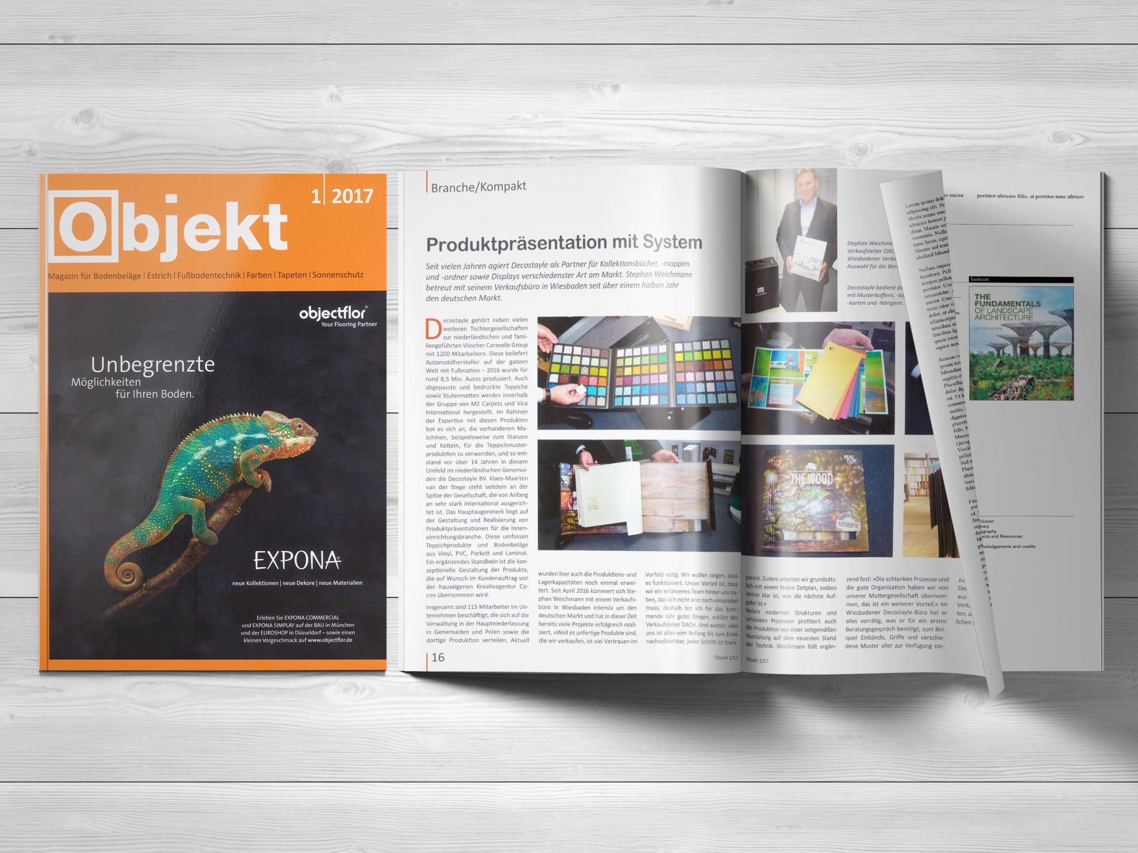Magazine Artikel Decostayle Mockupkopie